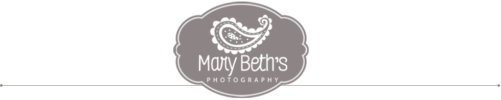 Augusta GA Newborn Photographer | Mary Beth's Photography logo